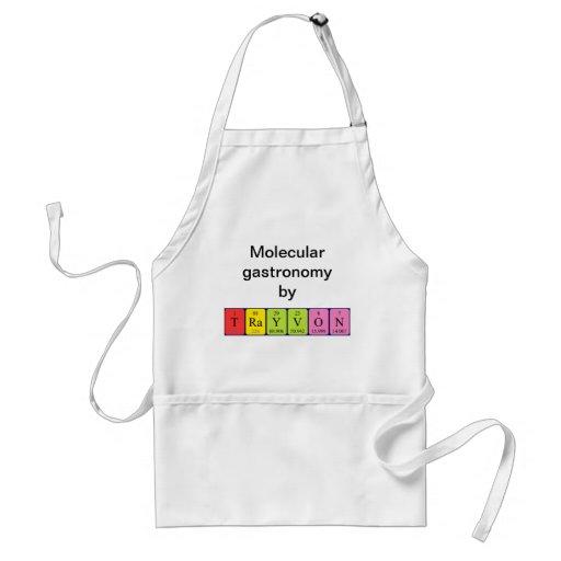 Trayvon periodic table name apron