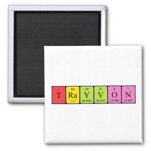 Trayvon periodic table name magnet