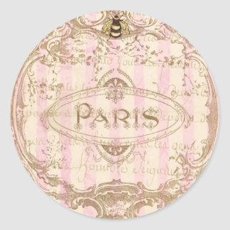 Tre Chic Paris Stickers or Envelope Seals