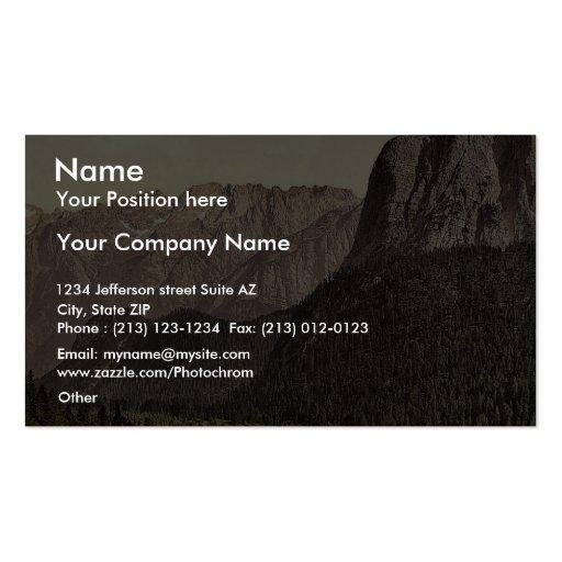 Tre Croci, Tyrol, Austro-Hungary rare Photochrom Business Card Templates