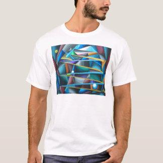 Treacherous Moons (colorful cubism) T-Shirt