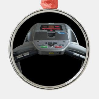 Treadmill Metal Ornament
