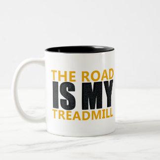Treadmill Two-Tone Coffee Mug