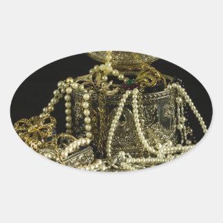 treasure-39599 oval sticker