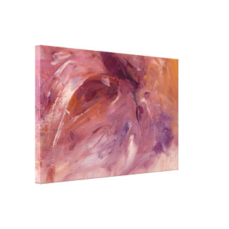 Treasure Abstract Art Print on Wrapped Canvas