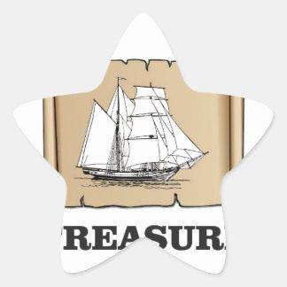 treasure at the high seas star sticker