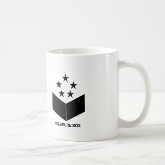 TREASURE BOX RECORD label logographic magnetic cup