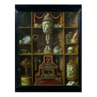 Treasure Chest, 1666 Postcard