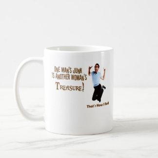 Treasure Classic White Coffee Mug