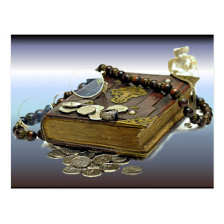 Treasure Collectors Book of Coins, Silver, Rings Postcard