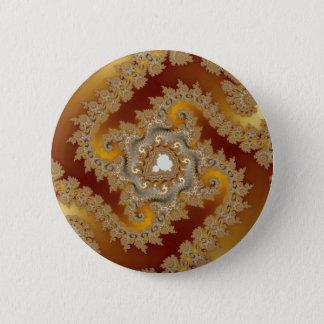 Treasure - Fractal 2 Inch Round Button