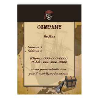 Treasure Hunt -Skull- Business Card