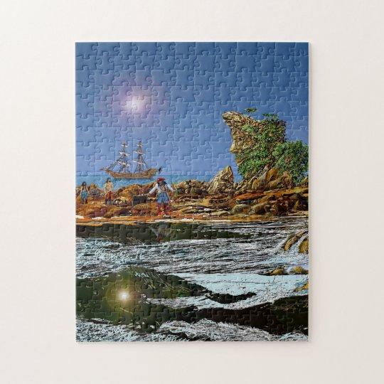 treasure island jigsaw puzzle