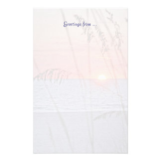 Treasure Island Sunset Stationery