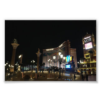 Treasure Island & The Venetian Photo Print