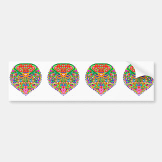 Treasure Jewels Collection by Navin Bumper Sticker