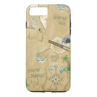 Treasure Map iPhone 7 Case