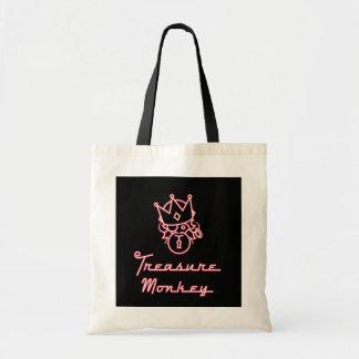 Treasure Monkey Budget Tote Bag