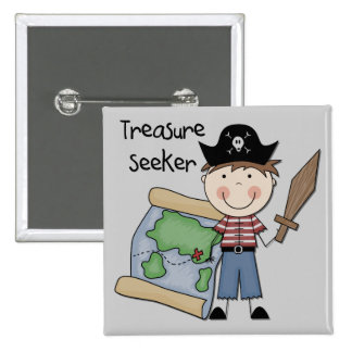 Treasure Seeker - Boy Tshirts and Gifts Pins