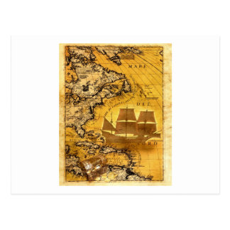 Treasure Ship Postcard