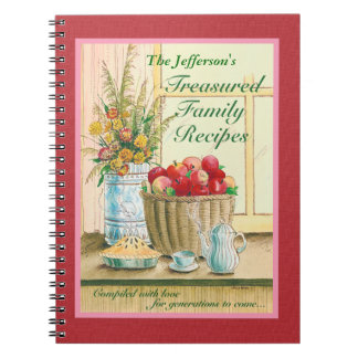 Treasured Family Recipes Journal