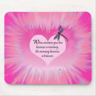 Treasured Memories Dragonfly Mouse Pad