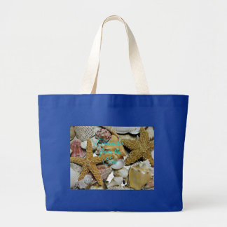 Treasures from the Sea Large Tote Bag