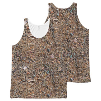 Treasures of the forest All-Over-Print tank top