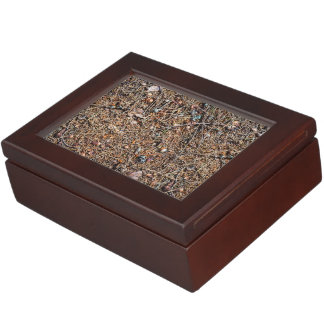 Treasures of the forest keepsake box