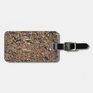 Treasures of the forest luggage tag