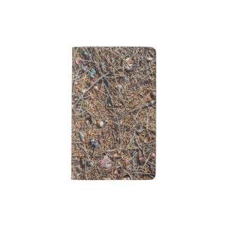 Treasures of the forest pocket moleskine notebook
