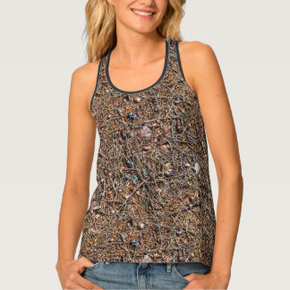 Treasures of the forest tank top