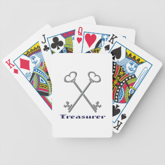 treasurfer bicycle playing cards