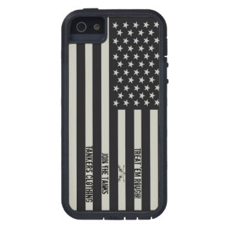Treat 'em Rough IR Flag iPhone 5 case! Case For The iPhone 5