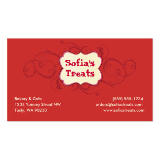 Treat! Pack Of Standard Business Cards