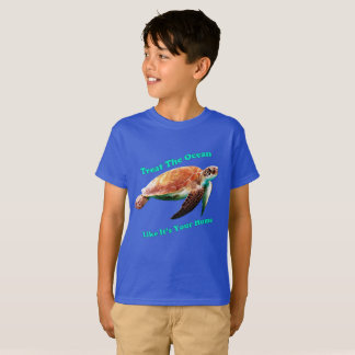 Treat The Ocean Like It's Your Home T-Shirt
