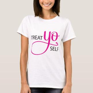 Treat Yo Self Pink T-Shirt
