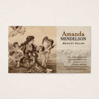 Treat your self Beauty Business Card