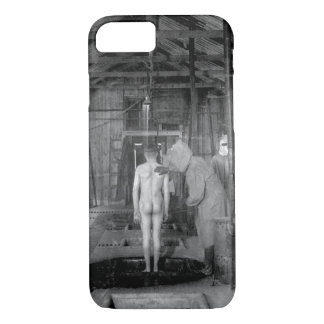 Treatment room for gassed patients at _ War image iPhone 7 Case