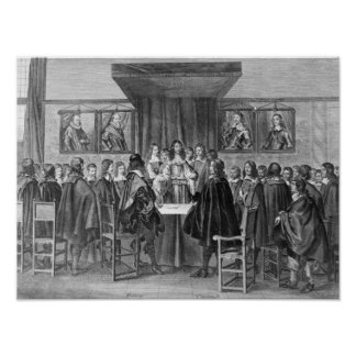 Treaty of Breda, 31st July 1667 Poster