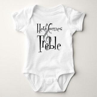 Treble Baby Bodysuit