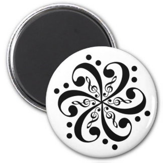 Treble Bass Swirl Magnet