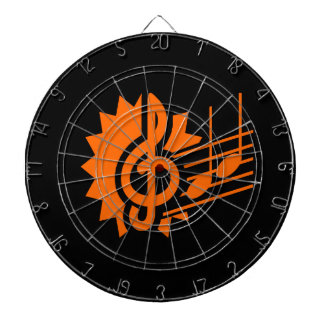 treble clef eighth notes staff graphic orange.png dart boards