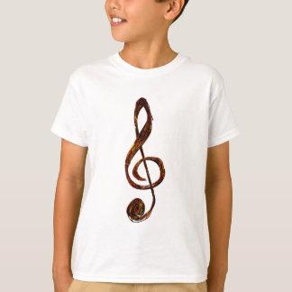 Treble Clef Expression Clothing Line T-Shirt