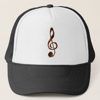 Treble Clef Expression Clothing Line Trucker Hat