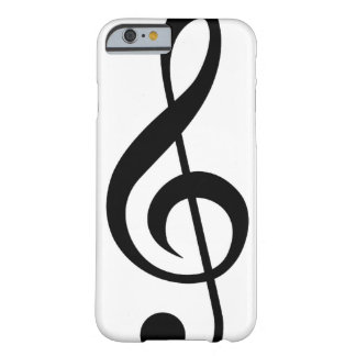 Treble Clef G-Clef Musical Symbol Barely There iPhone 6 Case