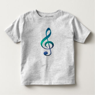 Treble Clef G Music Symbol Toddler's T-Shirt