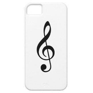 Treble Clef iPhone 5 Cover