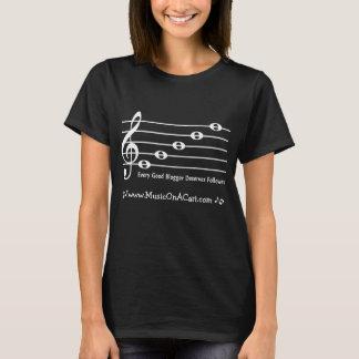 Treble Clef Sentence Shirt-Customize w/ Your Blog T-Shirt