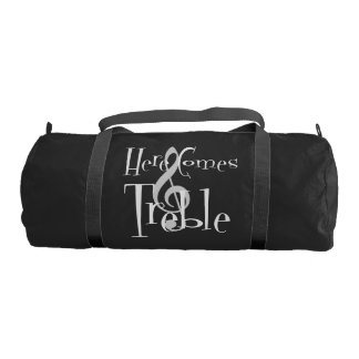 Treble Dark Duffel Bag